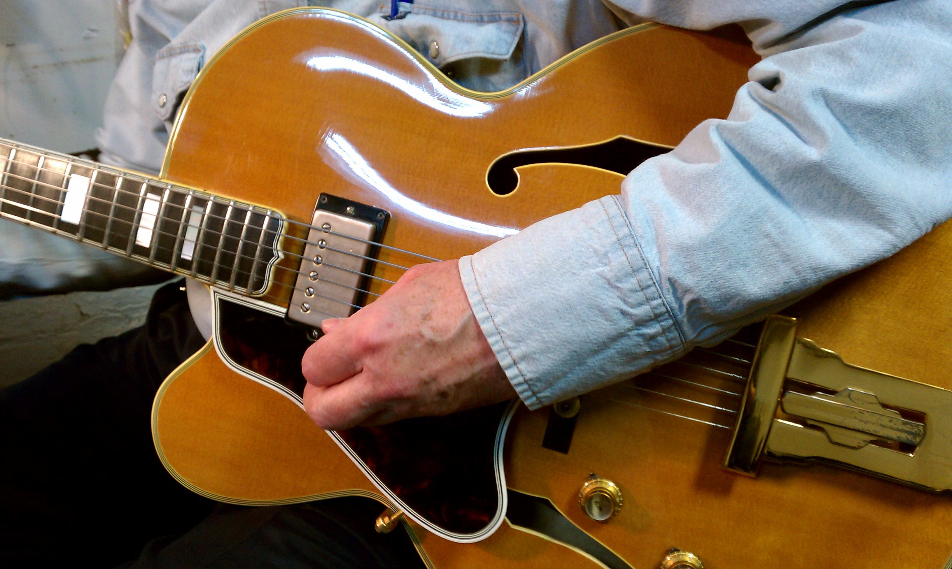 Gibson L 5 Wiring Automotive Diagram 1959 L5 Ct George Gobel Model Cf Restorations Rh Cfrestorations Com Epiphone Hollow Body Style Guitars